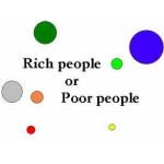 Rich people or Poor people