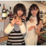 芳賀優里亜&秋山莉奈