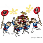祭り(神輿)