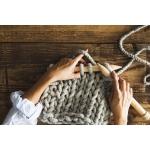 極々太の糸を編む